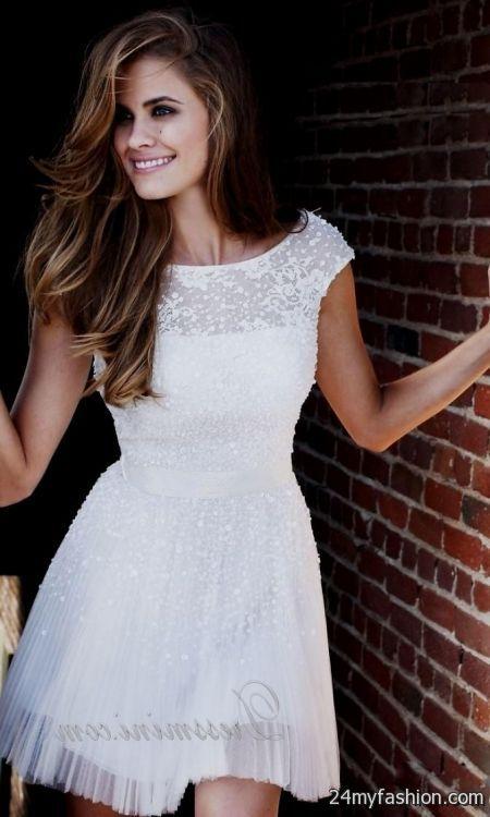 Short White Formal Dress