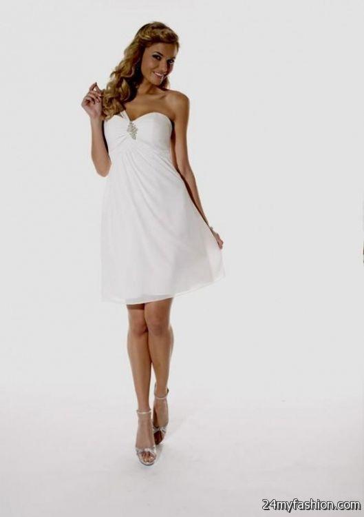 Short White Formal Dresses Under 100 2016 2017 B2b Fashion