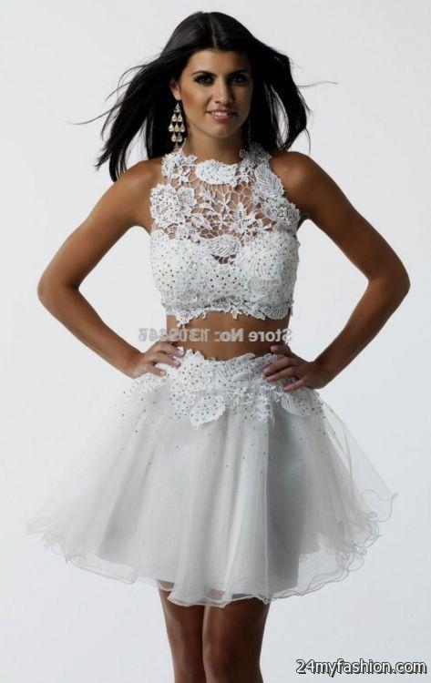 Short Sleeveless Prom Dresses