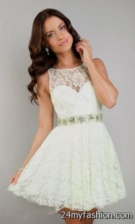 Images of Short White Prom Dress - Reikian