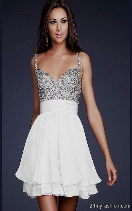 short white sequin wedding dress 2016-2017 » B2B Fashion