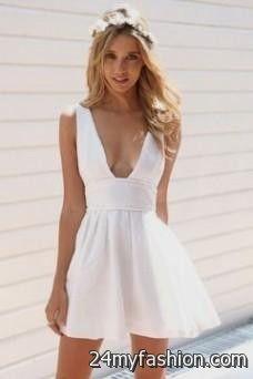 short white sundress 2016-2017 | B2B Fashion