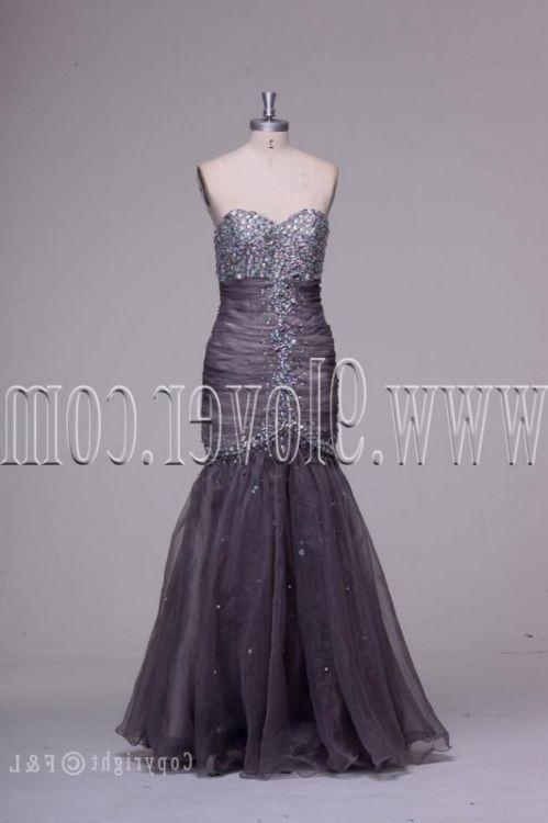 Silver Plus Size Wedding Dresses