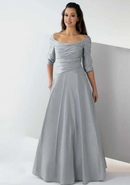 silver wedding dresses plus size looks | B2B Fashion