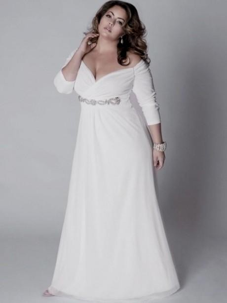 Silver Wedding Dresses Plus Size 2016 2017 B2b Fashion
