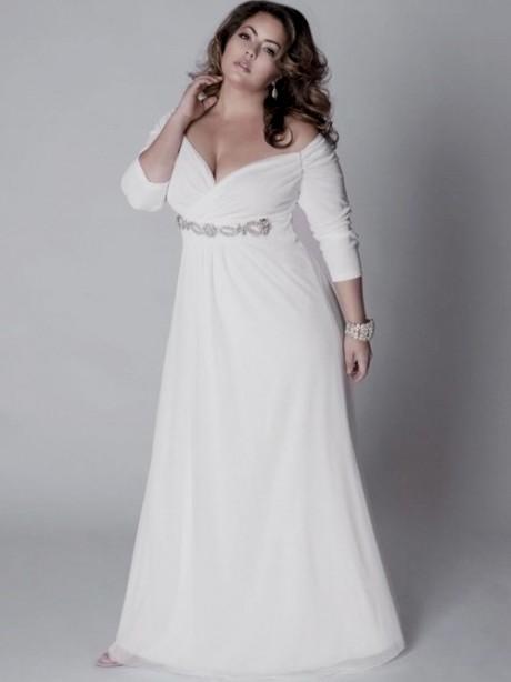 Silver Wedding Dresses Plus Size Looks B2b Fashion
