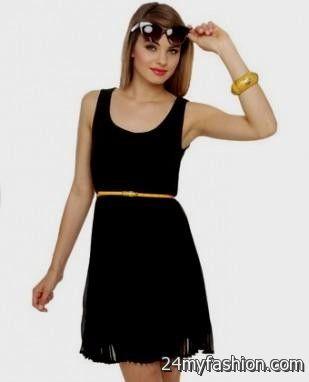 simple black dress for juniors 20162017 b2b fashion