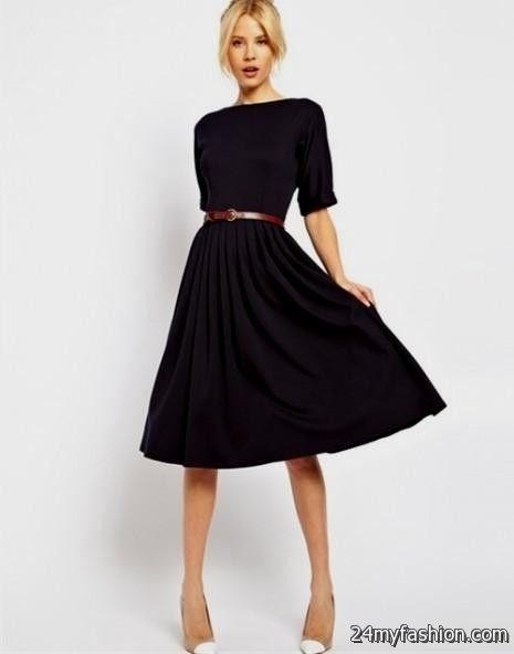 simple black dresses 2016-2017 » B2B Fashion