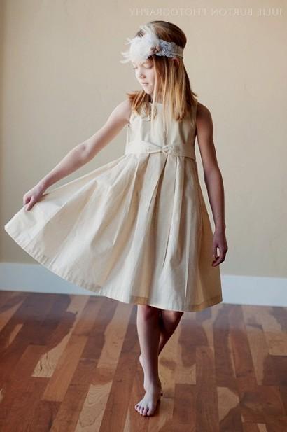 simple cotton flower girl dresses 2016-2017 » B2B Fashion