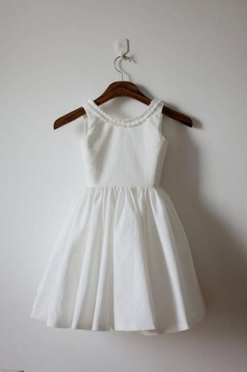 Simple Cotton Flower Girl Dresses Looks B2b Fashion