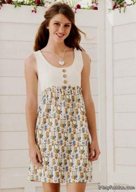 Simple dresses for teenage girls 2016 2017 b2b fashion - Teenager girl simple home ...