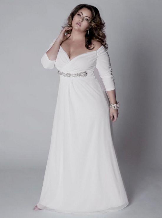 simple plus size beach wedding dresses 2016-2017 | B2B Fashion