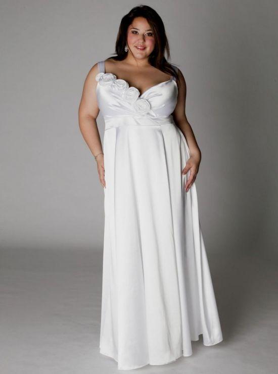 simple plus size wedding dresses looks | B2B Fashion