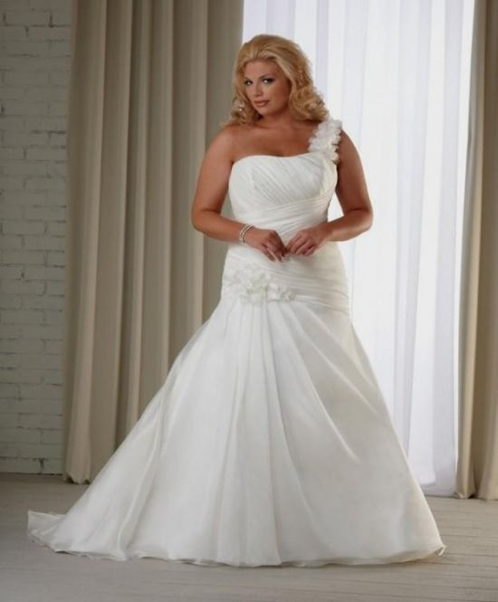 Not White Wedding Dresses: Simple Plus Size Wedding Dresses Not White Looks