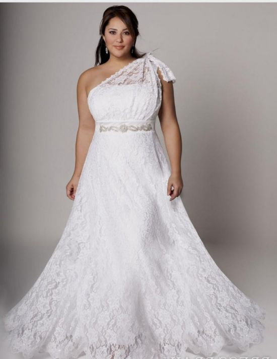 simple plus size wedding dresses with color 2016-2017 | B2B Fashion