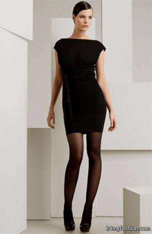 Simple Short Black Dresses Looks B2b Fashion