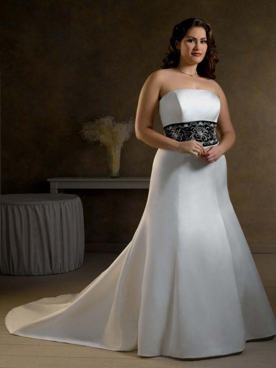 Simple White Plus Size Wedding Dresses Looks B2b Fashion