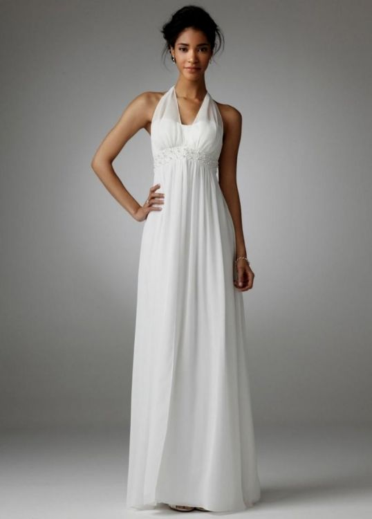 Simple white plus size wedding dresses 2016 2017 b2b fashion for Simple white dresses for wedding