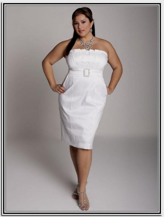 9612c0bfa0 simple white plus size wedding dresses looks
