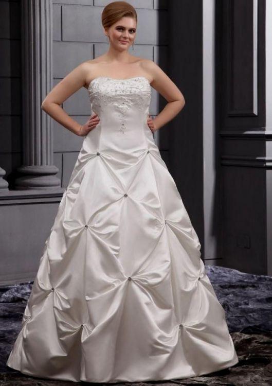 Plus size simple wedding dresses wedding dresses in redlands for Cheap simple plus size wedding dresses
