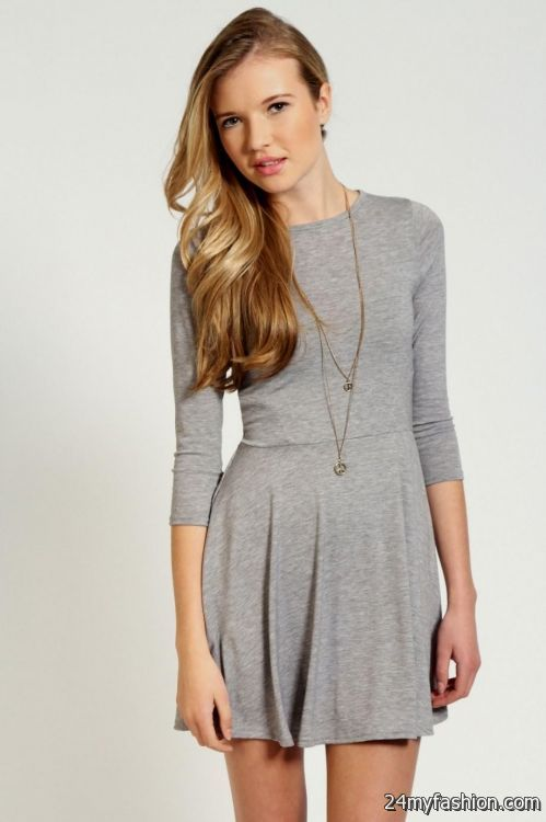Skater Dress With Sleeves Pattern - Missy Dress