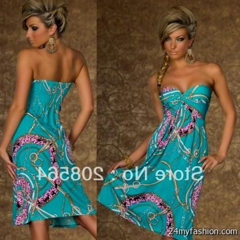 28c74e3385ad1 You can share these strapless casual summer dress on Facebook, Stumble  Upon, My Space, Linked In, Google Plus, Twitter and on all social  networking sites ...
