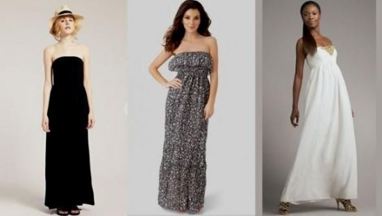 strapless summer maxi dresses 2016-2017 » B2B Fashion