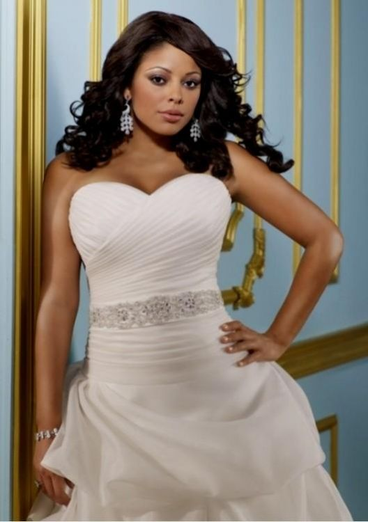 Strapless Wedding Dresses For Plus Size Women 2016 2017 B2b Fashion