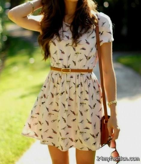 Summer Dress Outfits Tumblr 2016 2017 B2b Fashion