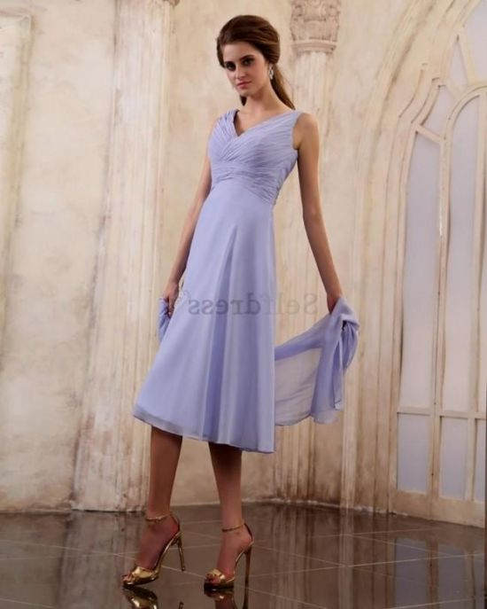 Spring Mother of Groom Dresses Tea Length