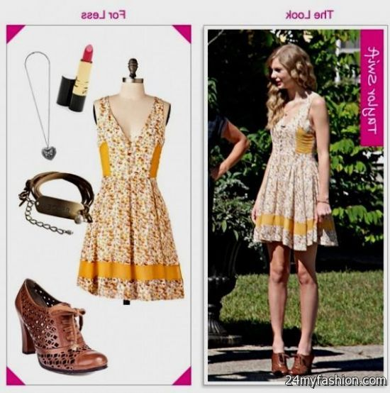 taylor swift casual dresses 2016-2017 | B2B Fashion