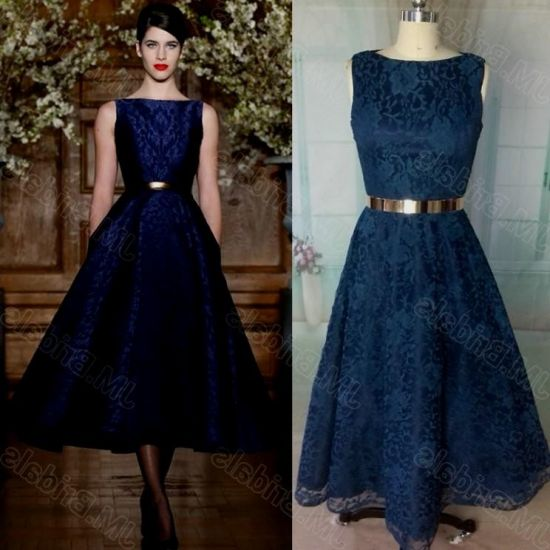 tea length dresses blue 2016-2017 » B2B Fashion