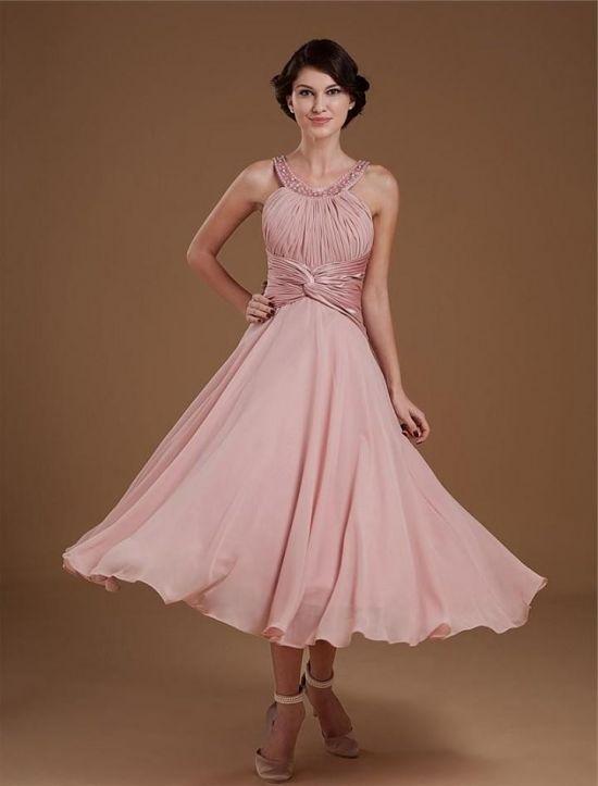 Tea length dresses for wedding guest 2016 2017 b2b fashion for Wedding guest dresses 2017