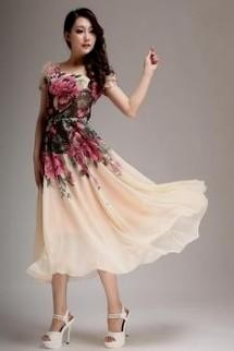 37a59fdbe3c Tea Length Dresses Wedding Guest - Dress Foto and Picture
