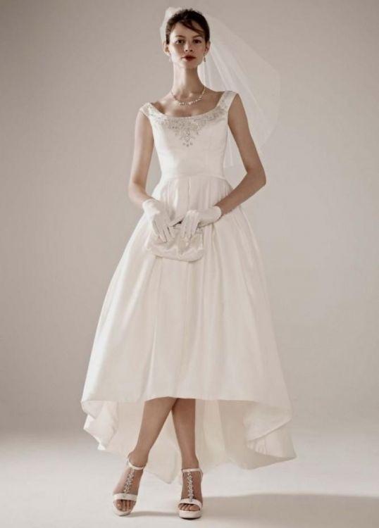 Tea length dresses for wedding guest 2016 2017 b2b fashion for Mid length dresses for wedding guests