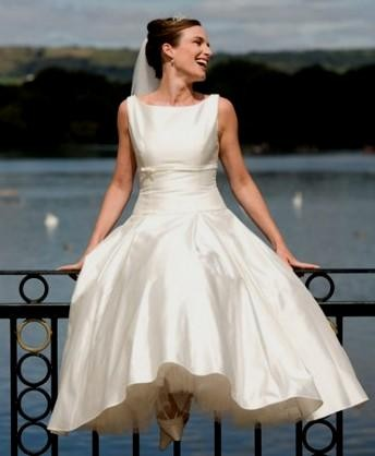 tea length wedding dress audrey hepburn 2016-2017 | B2B Fashion