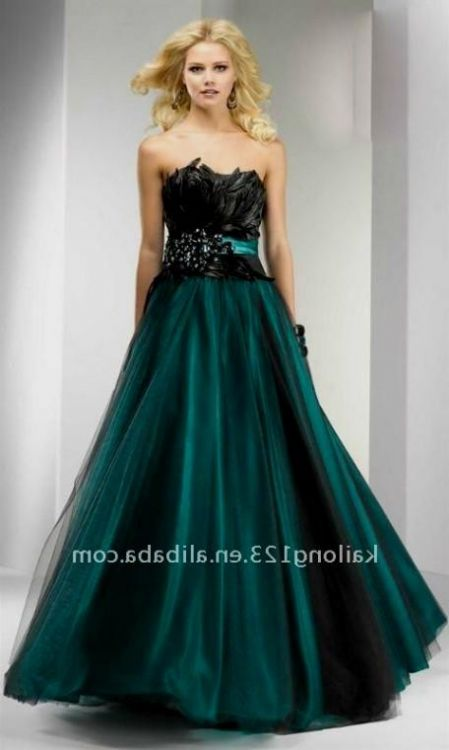 Teal And Black Wedding Dresses Looks B2b Fashion