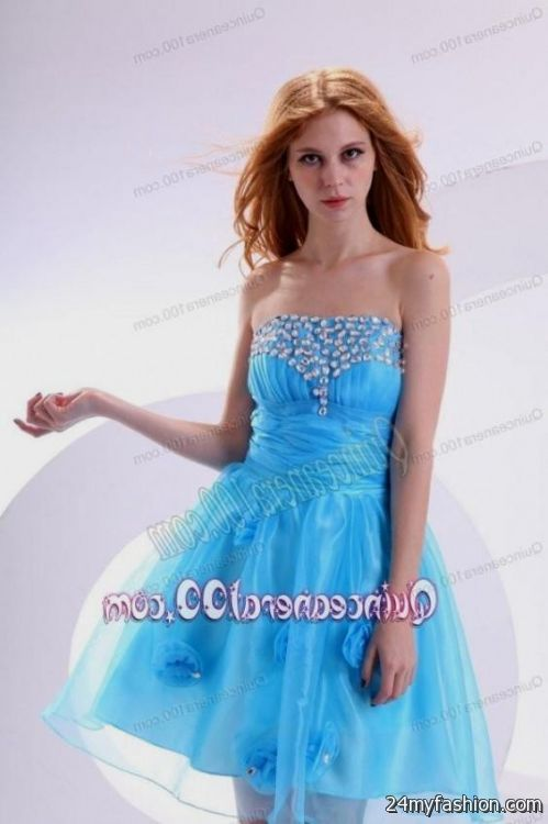 4b90a53ea1f You can share these tiffany blue quinceanera dama dresses on Facebook