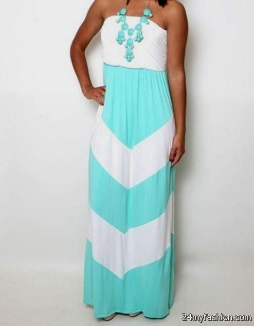 Tiffany blue summer dress