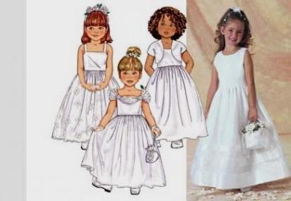 toddler flower girl dress patterns 2016-2017   B2B Fashion