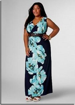 tropical dresses plus size looks | B2B Fashion
