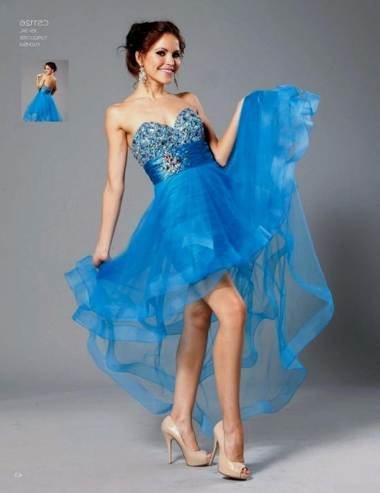 turquoise and black high low prom dresses 2016-2017 » B2B Fashion