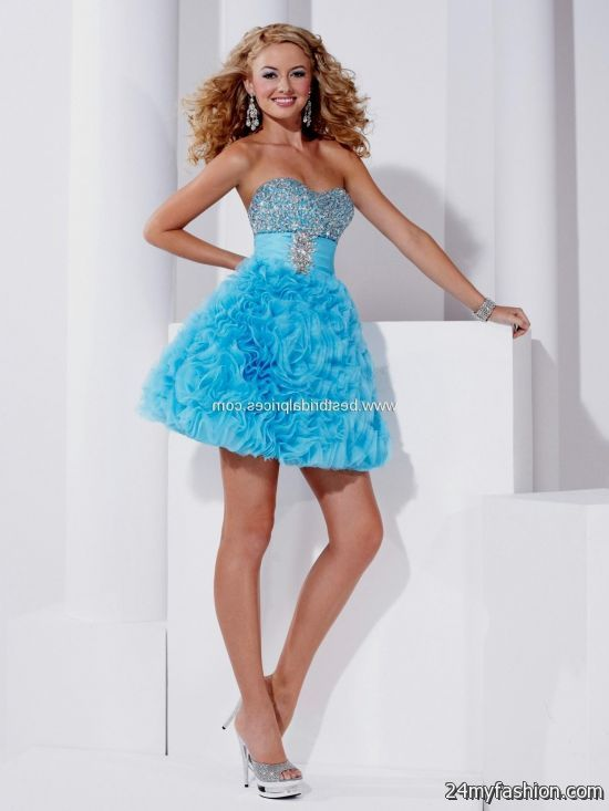 turquoise prom dresses short 2016-2017 » B2B Fashion