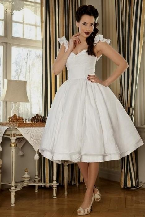 Unique Vintage Short Wedding Dresses - Ocodea.com