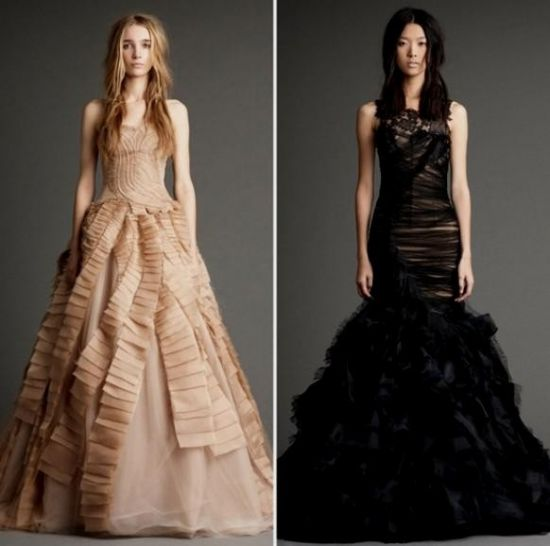 Vera wang black wedding dress 2016 2017 b2b fashion you can share these vera wang black wedding dress on facebook stumble upon my space linked in google plus twitter and on all social networking sites junglespirit Images