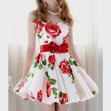 2019 year style- Dress floral tumblr
