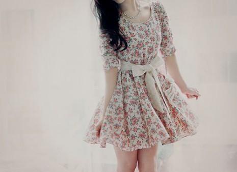 vintage floral dress tumblr