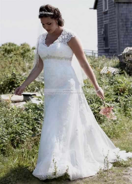 Vintage Plus Size Wedding Dresses With Sleeves 2016 2017
