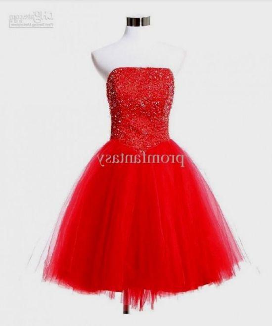 vintage red cocktail dress 2016-2017
