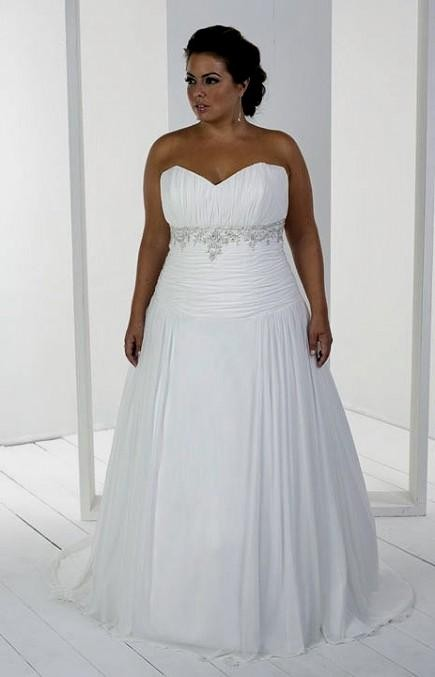 wedding dresses for plus size women 2016-2017 | B2B Fashion